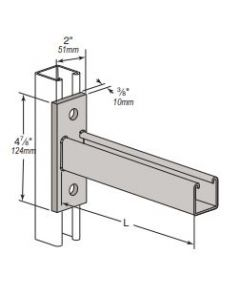 """BR46 - 1 5/8"""" Channel Bracket Arms (10 Piece Pack)"""