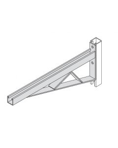 """BR45 - 3 1/4"""" Channel Two-Hole Bracket Arms"""